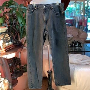 Levi's Men's 505 Black Jeans W 36  L 32